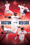 Boston Red Sox Collage 2012 Poster