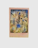 Warnung der Schiffe Collectable Print by Paul Klee