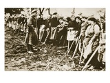 The Gleaners (Sepia Photo) Giclee Print by  German photographer