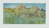 The Haystacks Collectable Print by Vincent van Gogh