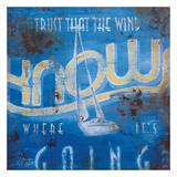 Wind Knows Giclée-tryk af Rodney White