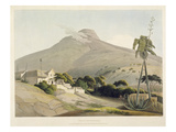 View of the Lion's Head, Plate 28 from 'African Scenery and Animals', Engraved by the Artist, 1805 Giclée-tryk af Samuel Daniell