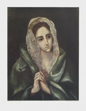 Mater Dolorosa Collectable Print by  El Greco