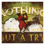 Nothing Beats A Miss Giclée-tryk af Rodney White