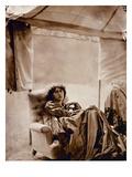 Portrait of Jane Morris (1839-1914) 1865 (Albumen Print) Giclee Print by John R. Parsons