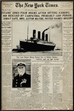 Titanic-Newspaper Photo