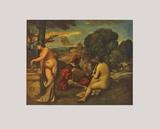 Rustic Concert Collectable Print by Giorgio Giorgione