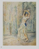 The Dancer Pawlowa Collectable Print by Max Slevogt