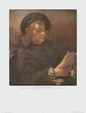 The Artist's Son, Titus Posters by  Rembrandt van Rijn