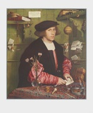 The Merchant Gisze Collectable Print by Hans Holbein