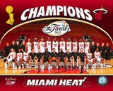Miami Heat 2012 NBA Champions Team Photo Photo