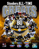 Pittsburgh Steelers All Time Greats Composite Fotografía