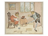 An Illustration from &#39;A Frog He Would A-Wooing Go&#39;, Pub. by Frederick Warne and Co. Giclee Print by Randolph Caldecott