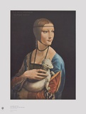 The Girl with the Ermine Collectable Print by Leonardo da Vinci