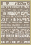 The Lord's Prayer Plakater