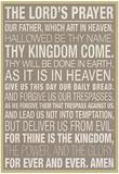 主の祈り 高画質プリント