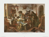 Topsy-Turvy World Prints by Jan Steen