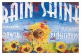 Rain & Shine Giclée-Druck von Rodney White