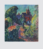 House among Trees Collectable Print by Alexej Von Jawlensky