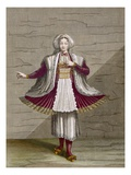 A Girl of Naxos, Plate 71 Reproduction proc&#233;d&#233; gicl&#233;e par Jean Baptiste Vanmour