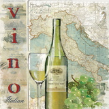 Vino Posters by Carl Robinson