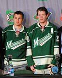 Zach Parise & Ryan Suter 2012 Press Conference Photo