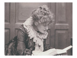 Portrait Photograph of Ellen Terry (1847-1928) Reading, by Frederick Hollyer (1837-1933) Giclee Print by Frederick Hollyer