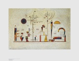 Seriousness - Fun Prints by Wassily Kandinsky