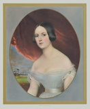 Portrait : Comtesse D&#39;Orsay Collectable Print by Kobel 