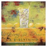 Rodney White - Nothing To Dream Digitálně vytištěná reprodukce