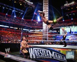 CM Punk Wrestlemania 28 Action Photo