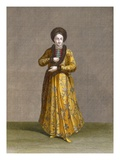 Princess of Wallachia, Plate 79 Gicl&#233;e-Druck von Jean Baptiste Vanmour