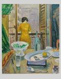 Lady at the Window Reproduction pour collectionneurs par Otto Laible