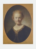 The Artist's Sister Collectable Print by  Rembrandt van Rijn