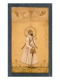 The Emperor Farrukhsiyar (1683-1719) from the Large Clive Album Giclee Print by  Mughal