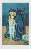 Mãe e Filho Impressões colecionáveis por Pablo Picasso