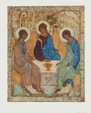 The Holy Trinity Wydruki dla kolekcjonerów autor Andrei Rubljew