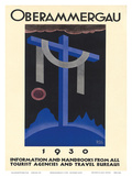 Oberammergau c.1930 Poster by Richard Klein