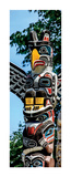 Totem Poles, Stanley Park, Vancouver, British Columbia Print by Jeff Maihara