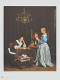 The Letter Collectable Print by Gerard Terborch