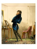 A New Coat (Colour Litho) Giclee Print by  English