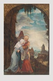 The Meeting of Saint Joachim and Saint Ann Collectable Print by Wolf Huber