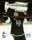 Dustin Penner with the Stanley Cup Trophy after Winning Game 6 of the 2012 Stanley Cup Finals Photo