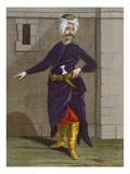 Chatir, Plate 28 Giclee Print by Jean Baptiste Vanmour