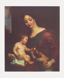 Virgin and Child Collectable Print by Gerard Seghers