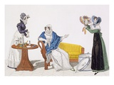 The Perfect Cure Or, the Hat from Longchamp, Plate 113 from 'Le Bon Genre', Early 19th Century Giclee Print by  French