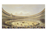 The Plaza De Toros of Madrid, 1865 (Colour Litho) Giclee Print by William Henry Lake Price