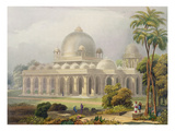 The Roza at Mehmoodabad in Guzerat, or the Tomb of Vizier of Sultan Mehmood Giclee Print by Captain Robert M. Grindlay