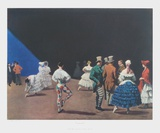 Carnaval Collectable Print by Laura Knight