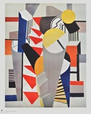 Composition Collectable Print by Fernand Leger